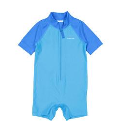 Boys UV Sun Safe Swimsuit Blue