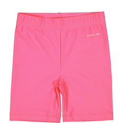 Baby Girls UV Swim Shorts Pink