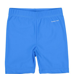 Kids UV Swim Shorts Blue