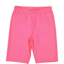 Kids UV Swim Shorts Pink