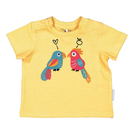 Babies Printed T-Shirt Yellow