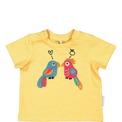 Babies Printed T-Shirt Yellow