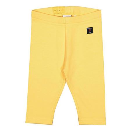 Baby Girls Capri Leggings Yellow