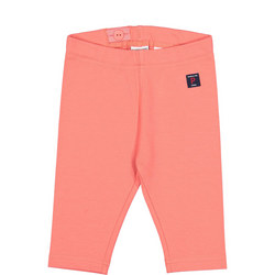 Baby Girls Capri Leggings Pink