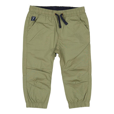 Babies Cotton Cuffed Trousers Green