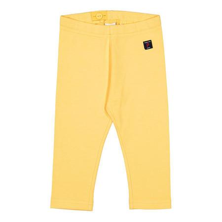 Girls Capri Leggings Yellow