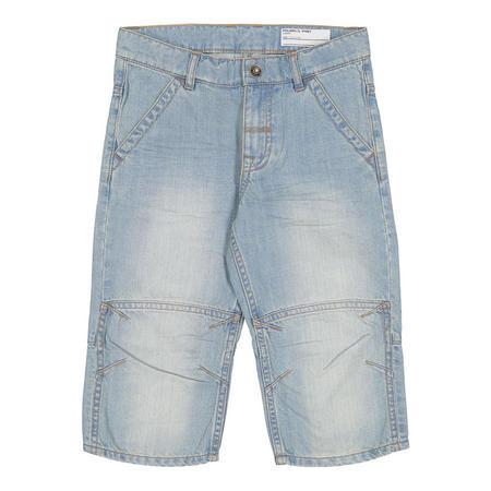 Kids Denim Shorts Blue