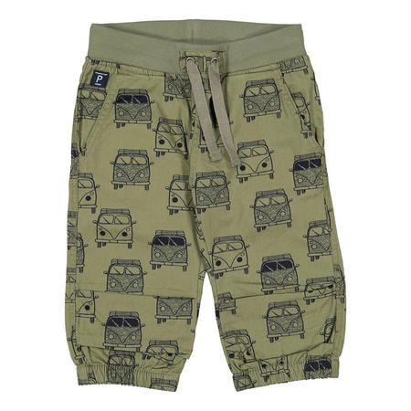 Boys Camper Van Shorts Green