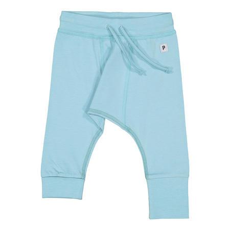 Babies Soft Cotton Trousers Blue