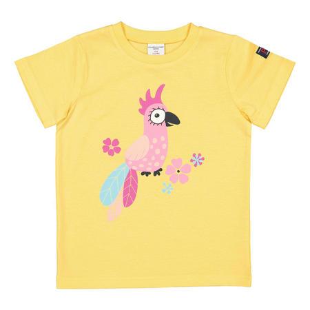 Kids Printed T-Shirt Yellow