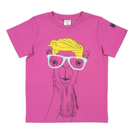 Kids Printed T-Shirt Purple