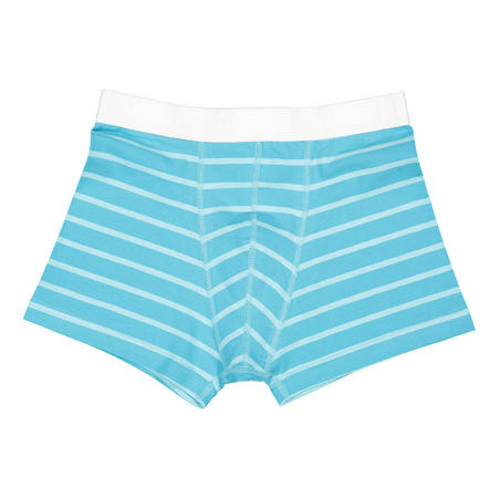 Boys Striped Boxers Blue