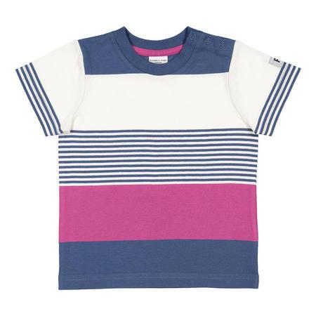 Babies Striped T-Shirt Blue
