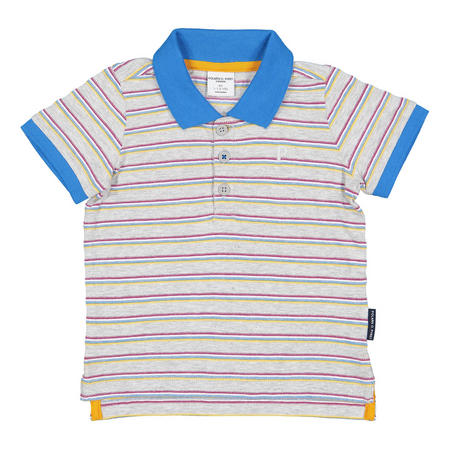 Boys Polo Shirt Grey