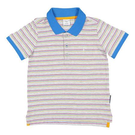 Boys Polo Shirt Grey