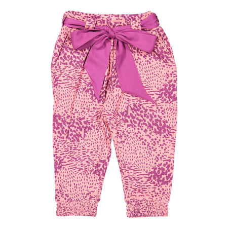 Baby Girls Polka Dot Trousers Blue