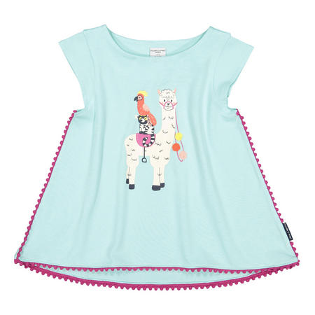 Girls Alpaca Top Blue