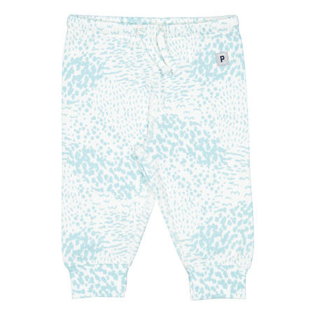 Babies Abstract Print Trousers Blue