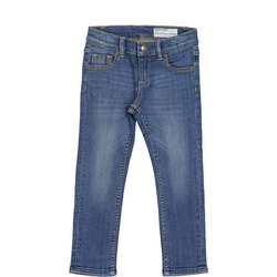 Kids Slim Fit Jeans Blue