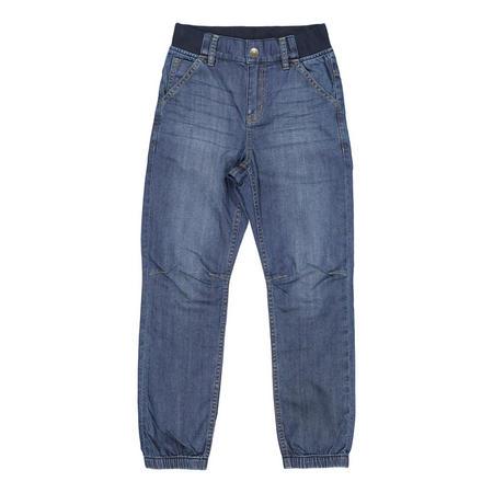 Kids Cuffed Jeans Blue