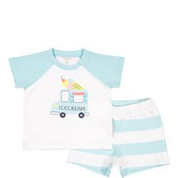 Babies Summer T-Shirt & Shorts Set
