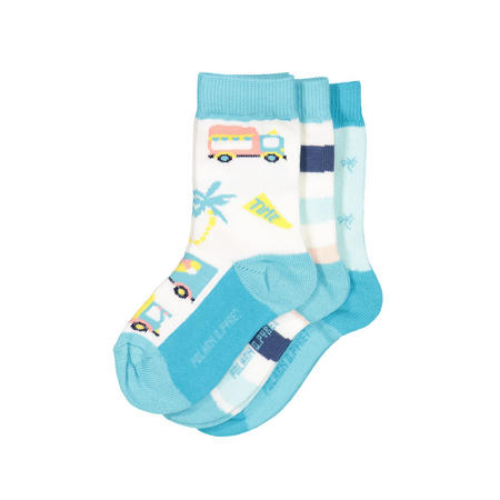 Babies 3 Pack Patterned Socks