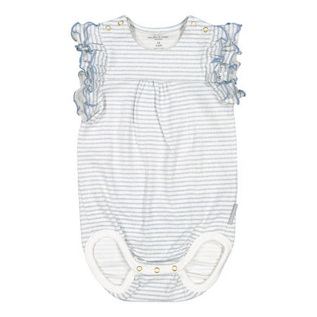 Baby Girls Striped Bodysuit