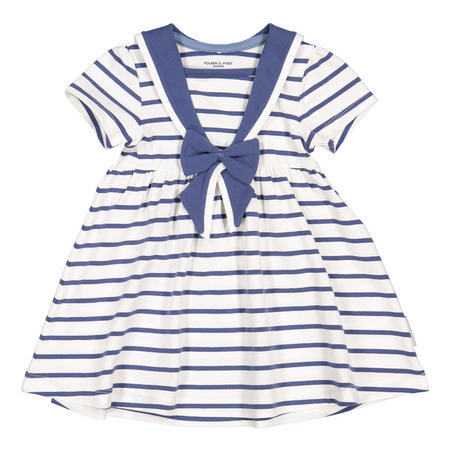 Baby Girls Striped Sailor Dress