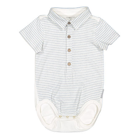 Baby Boys Polo Style Bodysuit