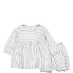 Babies Summer Dress & Shorts Set