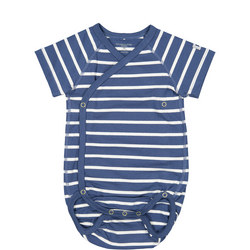Baby Boys Striped Bodysuit