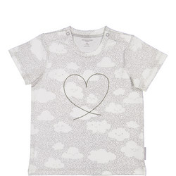 Babies Happy Cloud Print T-Shirt
