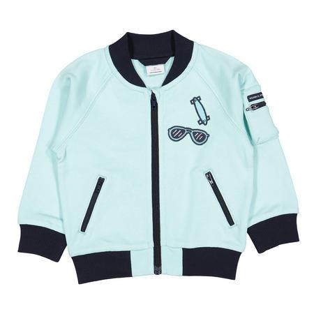 Kids Zipped Sweatshirt Jacket