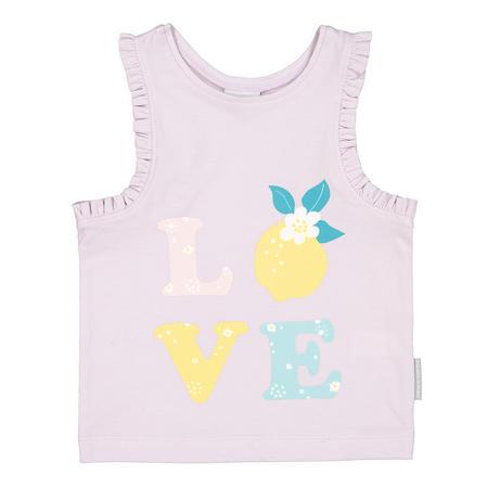 Baby Girls Love Vest Top