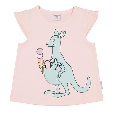 Girls Kangaroo with Joey Top