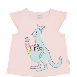 Girls Kangaroo with Joey Top