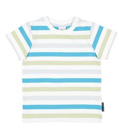 Babies Striped Organic T-Shirt