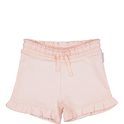 Girls Frilled Sweat Shorts