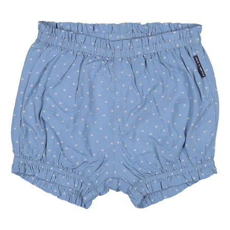 Baby Girls Heart Print Shorts