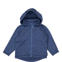 Kids Fleece Lined Knitted Hoodie