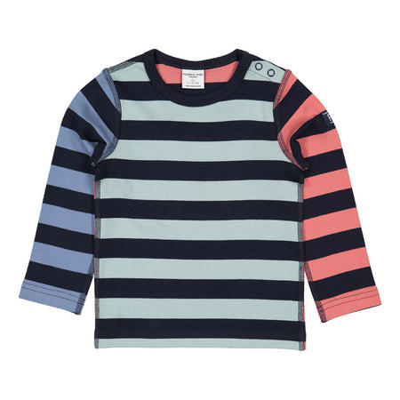 Babies Organic Multi-Striped Top