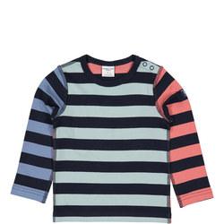 Babies Organic Multi-Striped Top