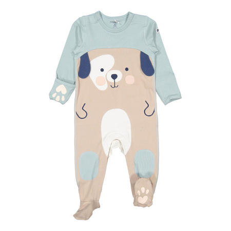 Babies Dog Applique Overall