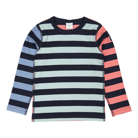 Kids Organic Multi-Striped Top
