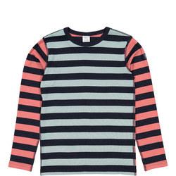 Kids Organic Multi-Striped Top