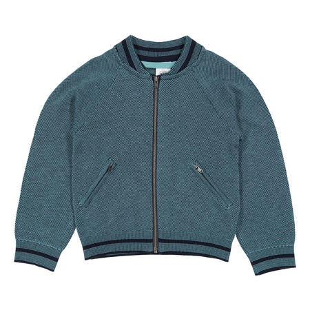 Boys Zipped Cardigan
