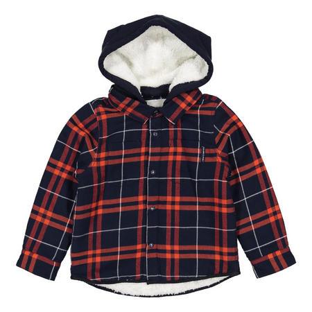 Boys Fleece Lined Shirt