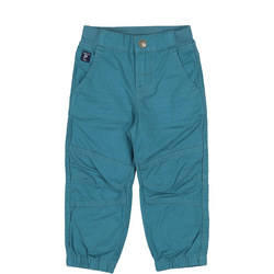 Boys Cotton Cargo Trousers