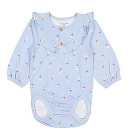Baby Girls Floral Bodysuit