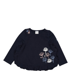 Baby Girls Floral Embroidered Top